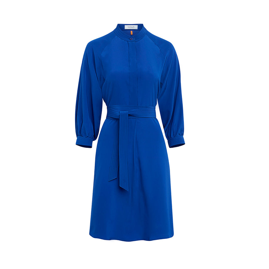 "Dress ""DAPHNE"" crepe de chine royal"