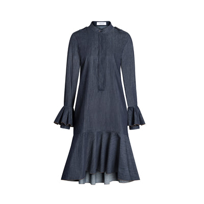 "Dress ""KIMMY"" light organic-cotton denim"