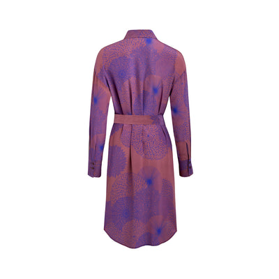 Dress KANYA ultraviolett flowerprint