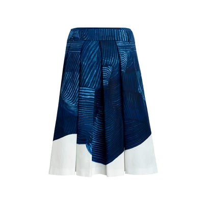 "Skirt ""RIO"" Markerprint navy"