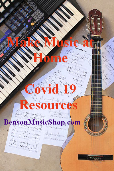 Covid 19 Social Distancing Music Resources - Things to Do