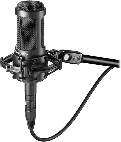Audio-Technica AT2035 Cardioid Condenser Microphone, Perfect for Studio, Podcasting & Streaming