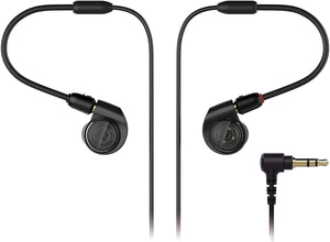 Audio-Technica - In Ear Monitor Headphones w/flex cable