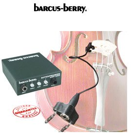 Barcus Berry - violin piezo pickup (includes preamp) - benson-music-shop