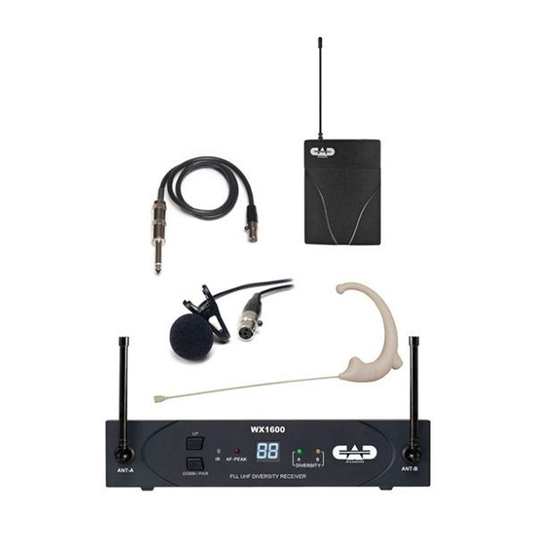 CAD UHF Wireless Bodypack Microphone System - benson-music-shop