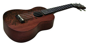 Daisy Rock Concert, 4-String Ukulele - Mother Earth - benson-music-shop