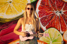 Load image into Gallery viewer, Daisy Rock Concert, 4-String Ukulele, Pink Blossom