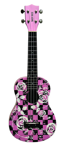 Daisy Rock Concert, 4-String Ukulele, Punk Pink - benson-music-shop