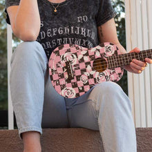 Load image into Gallery viewer, Daisy Rock Concert, 4-String Ukulele, Punk Pink - benson-music-shop