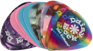 Daisy Rock Variety Premium Picks-12 Pack Guitar Picks - benson-music-shop
