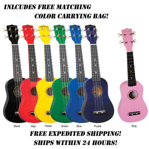 Soprano Ukuleles - In Colors - benson-music-shop