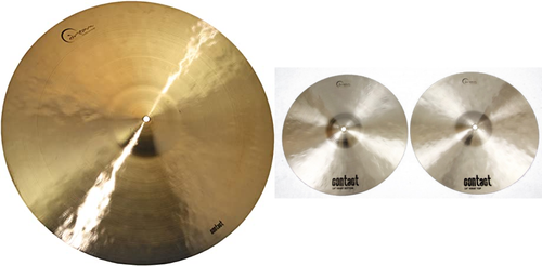 Dream Cymbals Box Set Contact Series with Free Splash