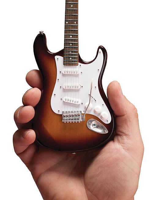 Fender Stratocaster – Miniature Classic Sunburst Finish