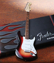 Load image into Gallery viewer, Fender Stratocaster – Miniature Classic Sunburst Finish