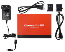 Load image into Gallery viewer, Focusrite Clarett 4Pre USB Audio Recording Interface w/ 4 Mic Preamps For PC+MAC