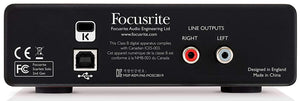 Focusrite  2nd gen Solo USB Interface pack w/Headphones Mic & XLR Cable