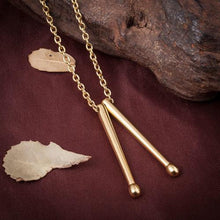 Load image into Gallery viewer, Drum Sticks Necklace