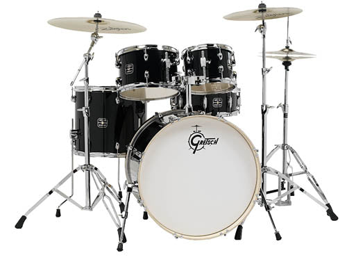 Gretsch Energy 5-Piece Kit with Full Hardware Package & Zildjian Cymbals - benson-music-shop