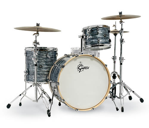 Gretsch Renown 3 Piece Drum Set (24/13/16) Silver Oyster Pearl