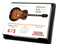 Load image into Gallery viewer, 2020 Electric Guitar Classics Daily Desk Calendar