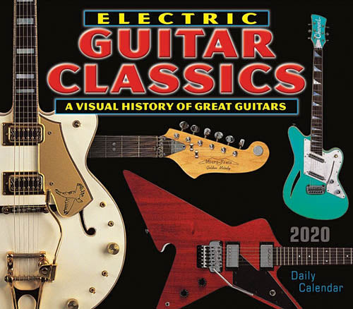 2020 Electric Guitar Classics Daily Desk Calendar