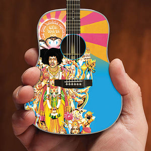 "Jimi Hendrix ""Axis: Bold As Love"" Acoustic Model - Mini Collectable Guitar"