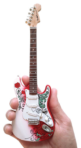 Jimi Hendrix Monterey Stratocaster - Official Miniature