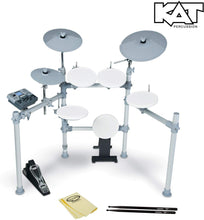 Load image into Gallery viewer, High Performance 5-Piece Digital Drum Set High Performance 5-Piece Digital Drum Set