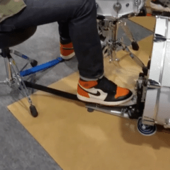 KickStrap - Stops all Drum, Hi Hat and Pedal Slide