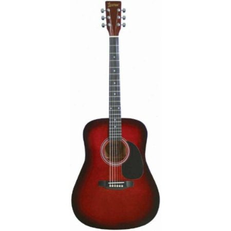 Dreadnought Acoustic Guitar - Brownburst - benson-music-shop
