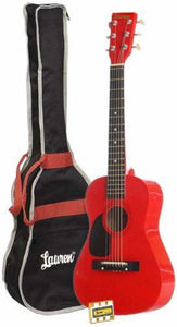 Student Guitar Package - Blue, Silver, Black or Red - Lauren