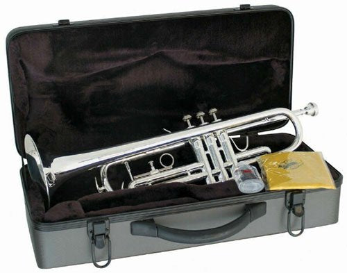 Silver Plated B-Flat Trumpet - Student - benson-music-shop