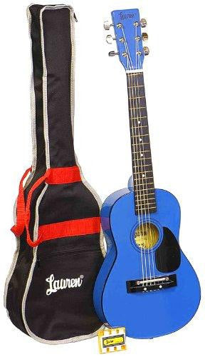 Student Guitar Package - Blue, Silver, Black or Red - Lauren - benson-music-shop