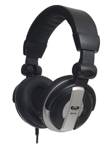 Headphones Studio Black 50mm Drivers - CAD
