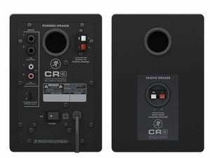 "Mackie CR3 3"" Creative Reference Studio Monitors (Pair) Black"