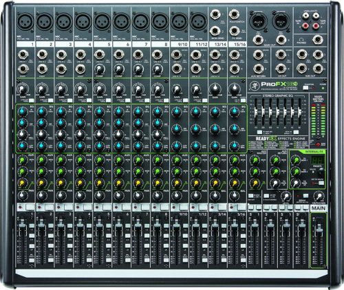 Mackie PROFX16V2 16-Channel 4-Bus Compact Mixer with USB and Effects