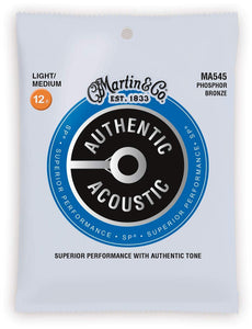 Martin Acoustic Guitar Strings (MA545) - benson-music-shop