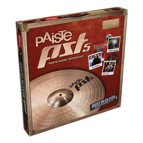 PST 5 Essential Set - 14-Inch Hi-Hats & 18-Inch Ride/Crash Cymbal - benson-music-shop