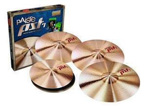 "Paiste PST7 Universal Cymbal Set - FREE 16"" Crash - benson-music-shop"