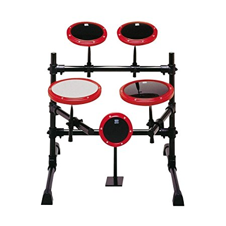 Remo 5 Piece Modular Practice Pad Set with Stand