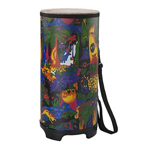 Kids Percussion Tubano Drum - Fabric Rain Forest