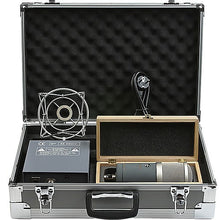 Load image into Gallery viewer, sE Dual Tube Cardioid Condenser w/Shockmount and Case - GEMINI-II