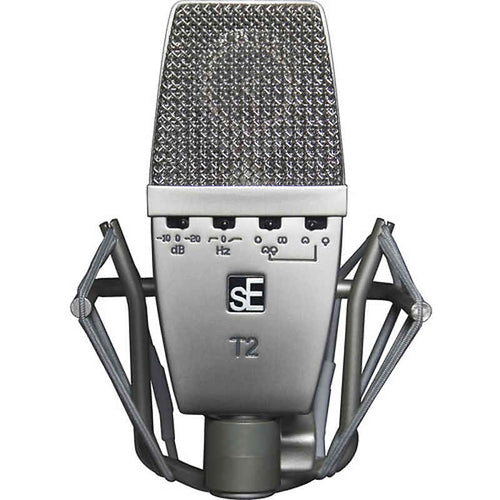 SE Electronics Multi Pattern Mic w/TI Capsule with Shockmount & Case, SE-T2