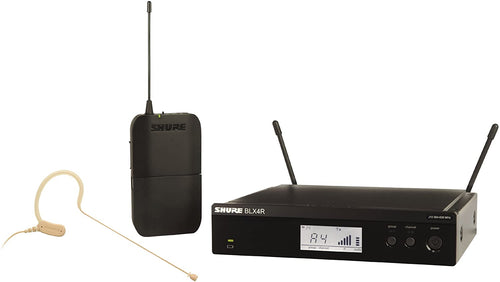 Shure BLX14R/MX53-H9 Headworn Wireless System with MX153 Mic - H9: 512 - 542 MHz
