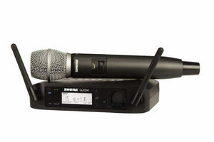 Shure GLXD24/SM58 Digital Vocal Wireless System with SM58 Handheld Microphone, Z2 - benson-music-shop