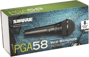SHURE Vocal Mic PGA58 with XLR Cable