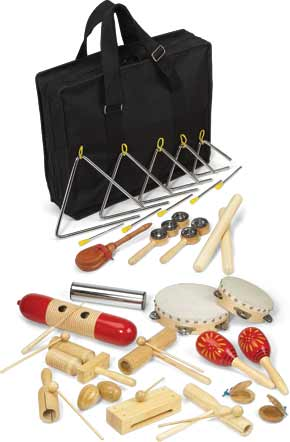 Suzuki Deluxe Rhythm Band Set - benson-music-shop
