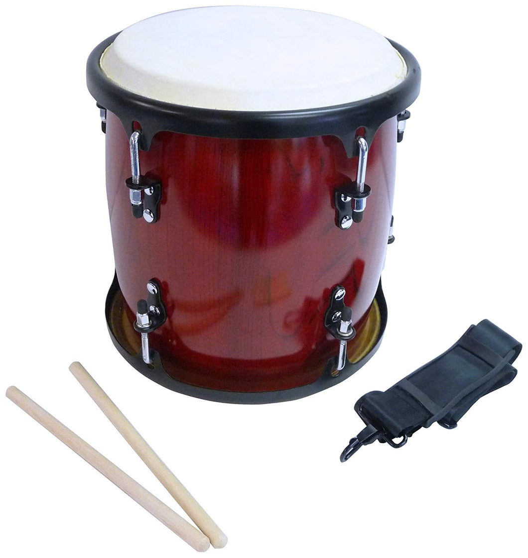 Suzuki - 2 HEADED TAMBOUR DRUM W/ADJUSTABLE STAND & STICKS
