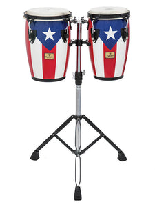 Mini Puerto Rican Flag Finish Congas