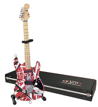 Load image into Gallery viewer, Eddie Van Halen Miniature Replica Guitar – Official Merchandise